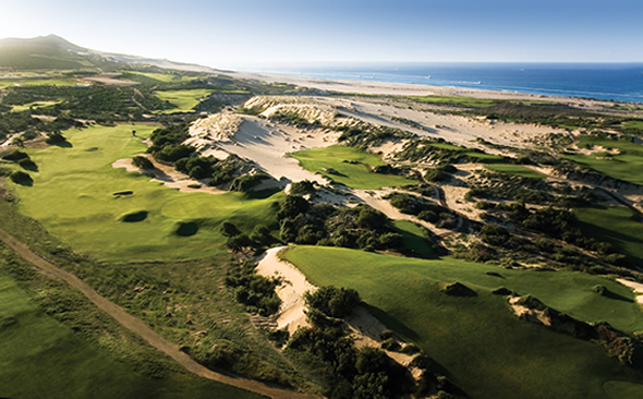 The new Diamante Golf course in Los Cabos just may be the best golf course in all of Mexico.